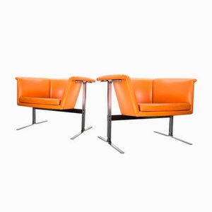Model 042 Lounge Chairs by Geoffrey Harcourt for Artifort, 1960s, Set of 2
