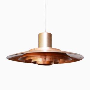 Danish Mid-Century 74123 Ceiling Lamp by Preben Fabricius & Jorgen Kastholm for Nordisk Solar, 1963