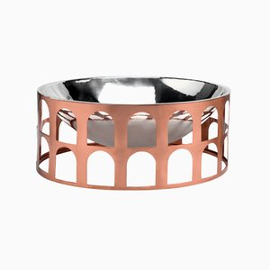 Colosseum III Copper and Silver-Plated Centerpiece by Jaime Hayon for Paola C.