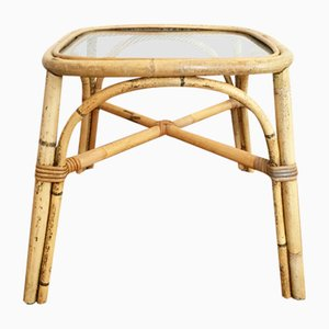Rattan Side Table from Ikea, 1960s
