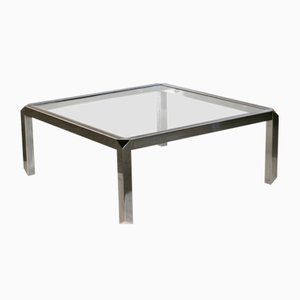 Large Modern Coffee Table, 1970s
