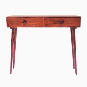 Danish Rosewood Console Table, 1950s