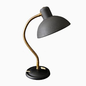 French Desk Lamp with Gooseneck, 1950s