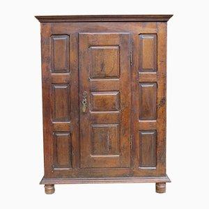 18th-Century Oak Linen Cupboard