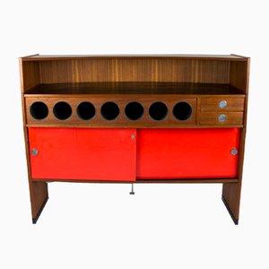Mueble bar vintage de Erik Buch para Dyrlund