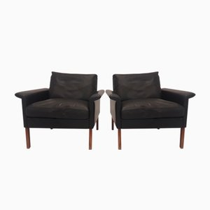 Model 500 Lounge Chairs by Hans Olsen for CS Mobelfabrik, 1960s, Set of 2