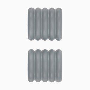 Colgadores ONoff en gris de Bicolter Studio para EO - elements optimal. Juego de 2