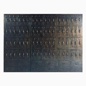 Casiers Industriels de Style Loft Vintage, Set de 3
