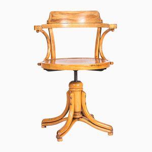 Sedia girevole in legno di Thonet