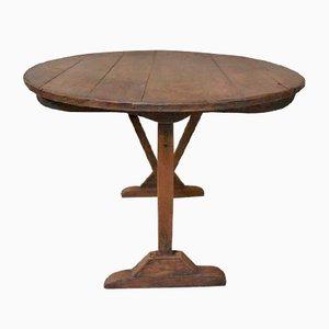 Antique Pine Wine Tasting Table