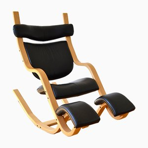 Gravity Balans Rocking Chair by Peter Opsvikfor for Stooke Varier, 1980s