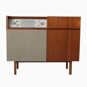 Mueble para radio y tocadiscos HM1 de Herbert Hirche para Braun, años 50