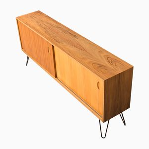 Walnut Veneered Sideboard by Georg Satink for WK-Möbel, 1950s