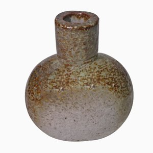 Grey Swedish Ceramic Vase by Gunnar Nylund for Rörstrand, 1960s