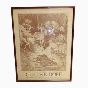 Poster Don Quixote di Gustav Doré, 1974