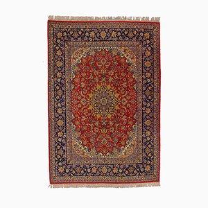 Alfombra Isfahan vintage