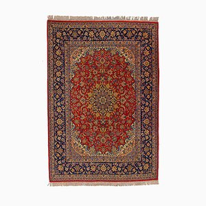 Vintage Isfahan Teppich