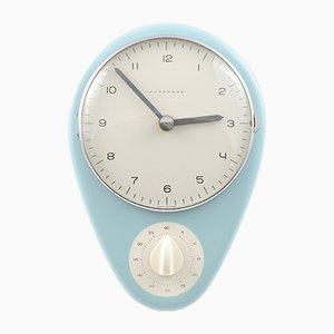 Reloj de cocina Mid-Century de Max Bill para Junghans, años 50