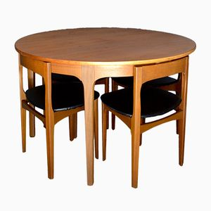 Mid-Century Teak Dining Room Set from Nathan