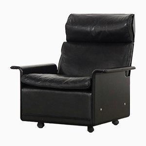 Vintage Lounge Chair in Leather by Dieter Rams for Vitsoe