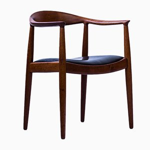 The Chair o butacas No. JH-501 de Hans J. Wegner para Johannes Hansen, años 60