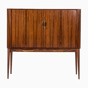 Mueble bar de chapa de palisandro de Kurt Østervig para KP Møbler, años 60