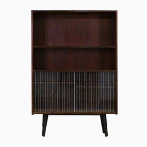 Vintage Danish Rosewood Veneer Bookcase by Poul Hundevad