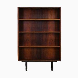 Vintage Danish Rosewood Veneer Bookcase