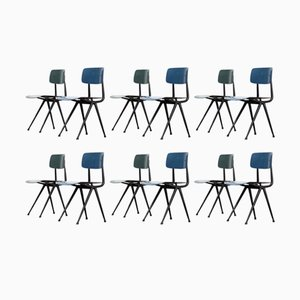 Result Chairs by Friso Kramer & Wim Rietveld for Ahrend De Cirkel, 1958, Set of 12