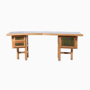 Französischer Vintage Schreibtisch, 1970er
