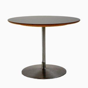 Black Melamine Coffee Table by Pierre Paulin for Artifort, 1960s