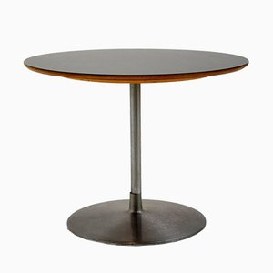 Tavolino da caffè in melamina nera di Pierre Paulin per Artifort, anni '60