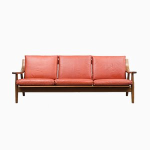 Vintage GE 530 Sofa by Hans. J. Wegner for Getama