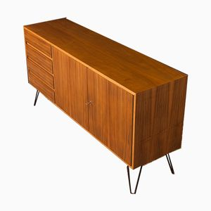 Vintage Walnut Veneered Sideboard, 1960s