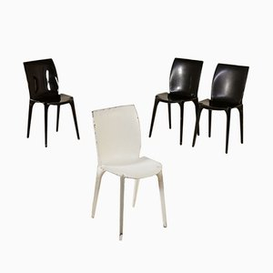Model Lambda Side Chairs by Marco Zanuso for Gavina, 1960s, Set of 4