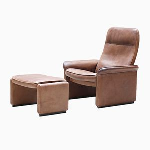 Vintage DS-50 Club Chair & Ottoman, 1970s