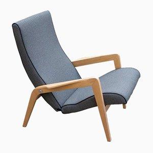 Vintage Lounge Chair by L.M. Koslauskaitė-Stapulionienė for Vilniaus Baldų Kombinatas, 1950s