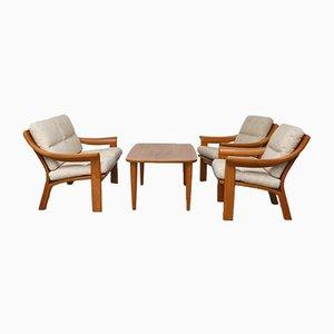 Teak Lounge Set from Poul Jeppesens Møbelfabrik, 1960s