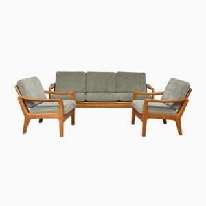 Teak Lounge Set von Juul Kristensen, 1960er