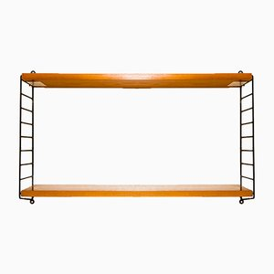 Wall Shelf by Kajsa & Nils Nisse Strinning for String, 1960s