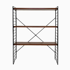 Vintage Standing Shelving Unit by A. D. Dekker for Tomado
