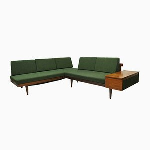Teak Corner Sofa/Daybed, 1960s