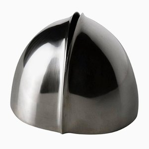 Silberne Germoglio Vase von Lino Sabattini, 1970er