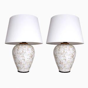 Lámparas de cristal de Murano de Alain Delon, años 70. Juego de 2