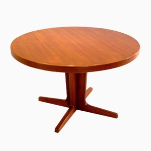 Vintage Danish Teak Extendable Dining Table by Niels Moller