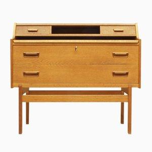 Danish Oak Model 70 Desk by Arne Wahl Iversen for Vinde Møbelfabrik, 1960s