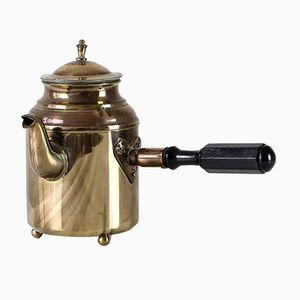 Vintage Swedish Brass Coffee Pot from S & Co. Borlange