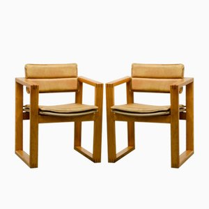 Side Chairs by Ate van Apeldoorn for Houtwerk Hattem, 1960s, Set of 2