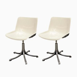 Mid-Century Modus Chairs by Osvaldo Borsani for Tecno, 1970s, Set of 2