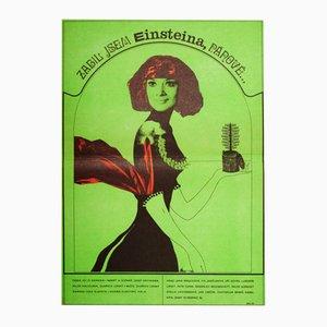 Poster del film I Killed Einstein Gentlemen di Josef Vyleťal, 1969